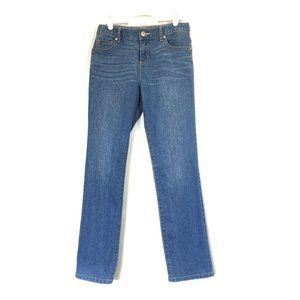 Place Jeans Mid-Rise Skinny Stretch Blue 12/24x26